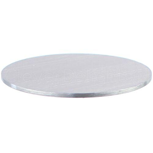 """14 GA 2/"""" Round Aluminum Stamping Blanks Raw 50 Pk"""