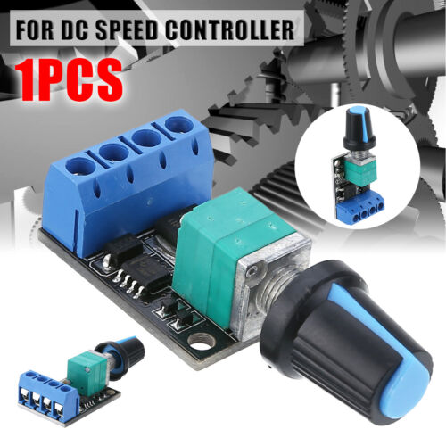 UK PWM DC 5V-16V 10A DC Motor Speed Controlling Switch LED Dimmer Controller