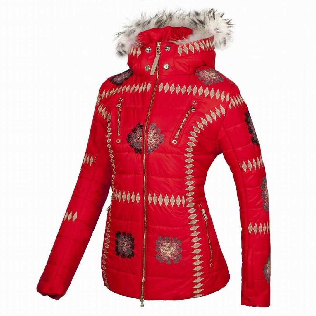 Bogner Women Ski Jacket Elena -D with fox fur included Nurea size : L