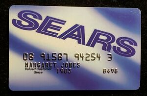 Details about Sears credit card♡free ship♡cc10♡