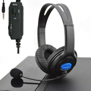 Stereo-Wired-Gaming-Headsets-Headphones-with-Mic-for-PS4-Sony-PlayStation-4-PC