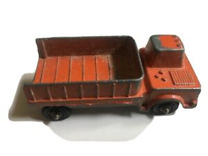 """Vintage PreOwned TootsieToy Orange Shuttle Truck 1967 2 1/2"""" long Diecast USA"""