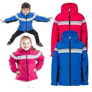 Trespass-Priorwood-Kids-Waterproof-Jacket-Boys-Girls-School-Raincoat-with-Hood