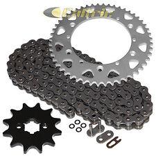 O-Ring Drive Chain & Sprockets Kit Fits YAMAHA YZ100 1982 1983 / YZ125 1984 1985
