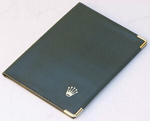 Vintage-Rolex-collector-watch-wallet-fine-matte-Genuine-Calf-Leather-44-sold