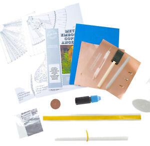 Peak-dale-Metal-Embossing-Kit-Copper-Angel-Xmas-decoration-gift