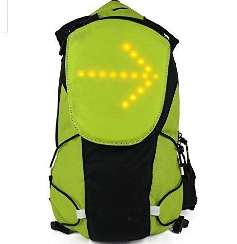 5lt Cycle Backpacks with Built in wireless indicator light system