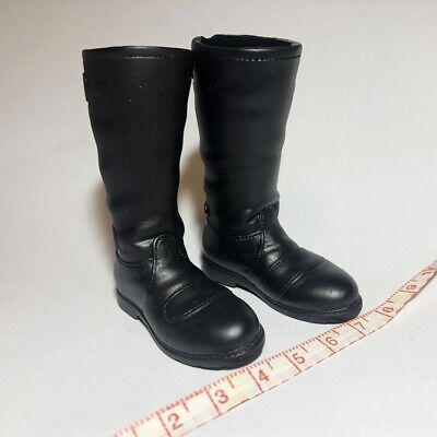 "1:6th Black solid Women/'s Shoes Boots Model For 12/"" Female Body Doll Toys"