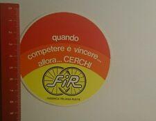 Aufkleber/Sticker: FiR quando competere é vincere allora Cerchi (28091634)