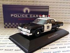 VOITURE POLICE CARS CHEVROLET BEL AIR  NORWICH USA  ATLAS 1/43 EME NEUF EN BOITE