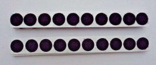 20 x Klettpunkte Ø 16mm Hakenband Klettband Klettverschluss Klett selbstklebend