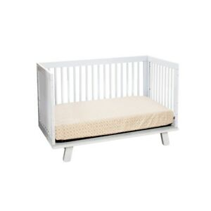 Babyletto Hudson 3 In 1 Convertible Crib In White M4201w