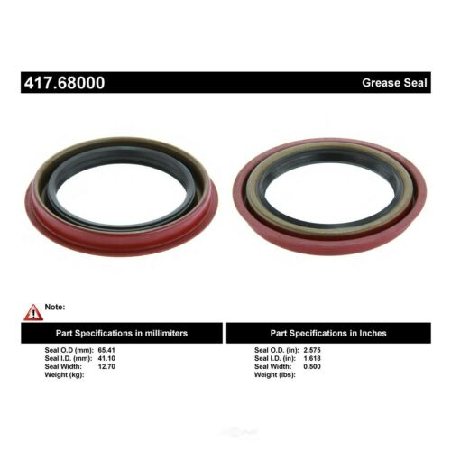 Axle Shaft Seal Centric 417.68000