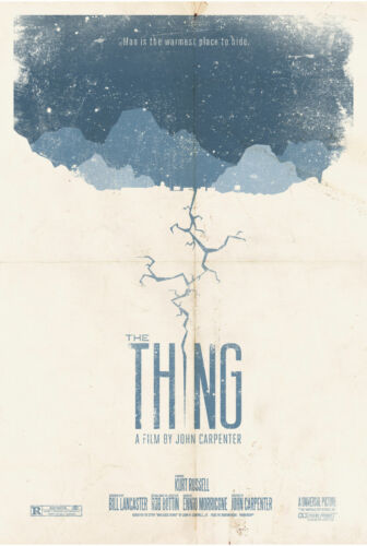 A4 A3 A2 A1 A0| The Thing Classic Horror Movie Poster Print T390