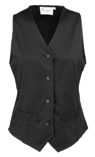 Premier Women/'s Hospitality Waistcoat PR621