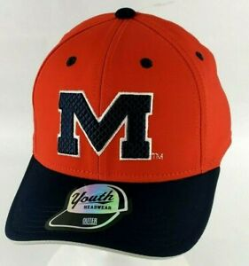 Outerstuff Ole Miss Rebels University Of Mississippi Snapback Youth Hat Cap New