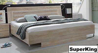 Qmax 'Davina' Range German Made Bedroom Furniture. Light Oak. Sliding Door.