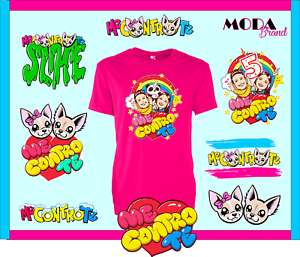 T-shirt-bambini-con-stampa-ME-CONTRO-TE-vari-colori-Spedizione-Gratis-tshirt