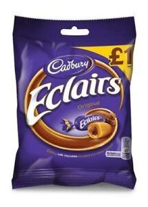 Cadbury-Chocolate-Eclairs-130g-Bag-British-UK