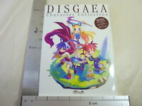 DISGAEA Character Collection Art Game Book Japan PS2 MW50*