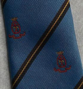 Le Prix Le Moins Cher Vintage Cravate Homme Cravate Shield Crested Club Association Society-afficher Le Titre D'origine