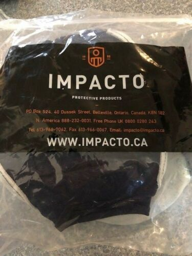 Impacto 523-14 Suede Impact 1//4 Suede Side Pair Protective Gloves Size L NEW
