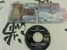 VELVET VIPER - S/t Same ST CD RARE HEAVY METAL 1ST PRESS 1991 FIFTH ANGEL SAXON