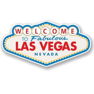 2-x-Las-Vegas-Sign-Vinyl-Sticker-iPad-Laptop-Travel-Luggage-Nevada-Gift-4349