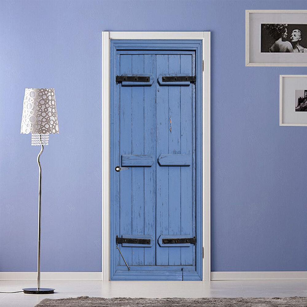 3D Blau 749 Tür Wandmalerei Wandaufkleber Aufkleber AJ WALLPAPER DE Kyra | Adoptieren  | Modern Und Elegant  | Hochwertig