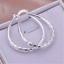Fashion-Silver-925-Cute-Women-Wedding-Party-U-Earring-Lady-Jewelry-Gift-New thumbnail 1