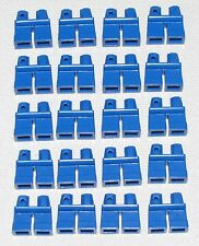 LEGO LOT OF 20 NEW SHORT BLUE LEGS KIDS BOY GIRL MINIFIGURE PANTS PARTS