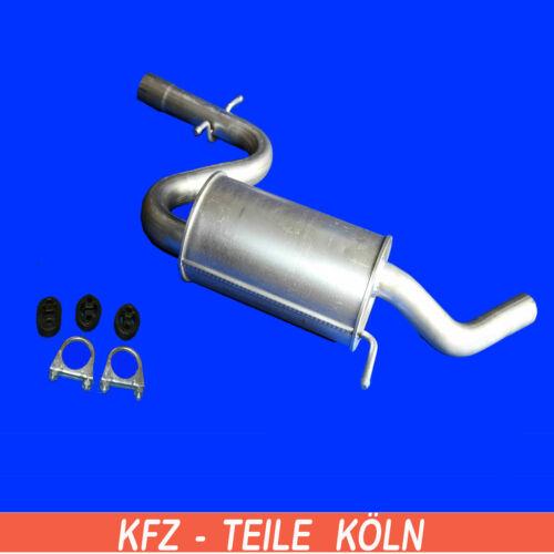Montagesatz Mittelschalldämpfer Seat  Leon  2.0 TFSI 1P1