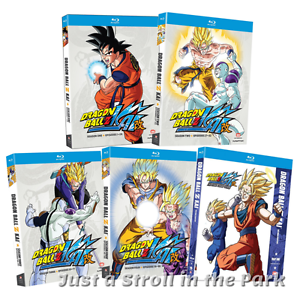 dragon ball z kai anime series complete seasons 1 2 3 4 5 box