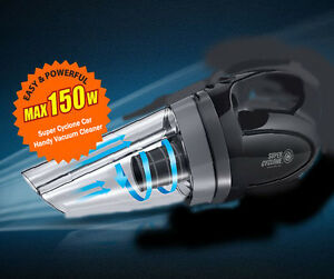 150w super car portable handheld vacuum cleaner auto. Black Bedroom Furniture Sets. Home Design Ideas