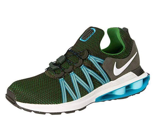 NIKE Men's Shox Gravity Nylon Running shoes AR1999 300 NEW