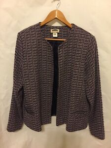 Mark-Reed-Blazer-SIZE-14-Long-Sleeve-Ipen-Front-Two-Pocket