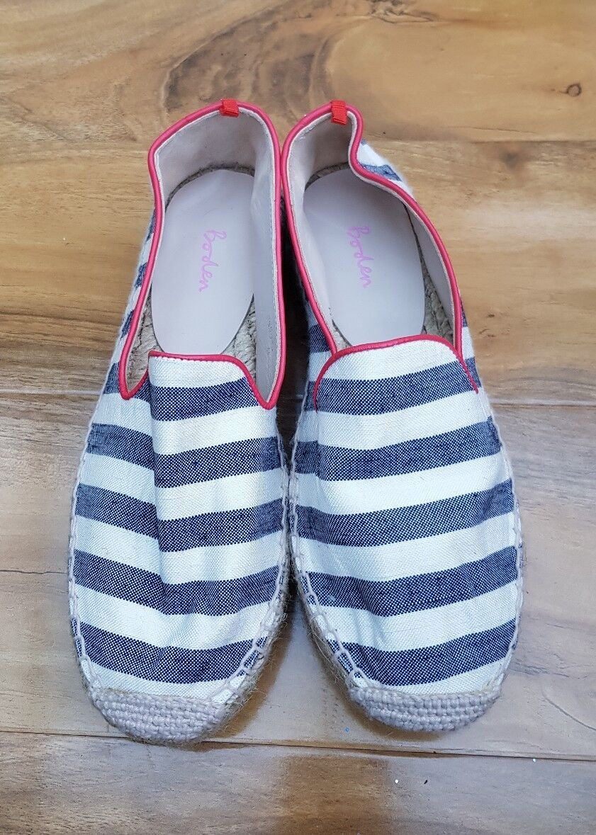 9c49f316 Boden Ladies GORGEOUS Two Part Espadrilles Size EU 36 UK 3.5 AR830 ...