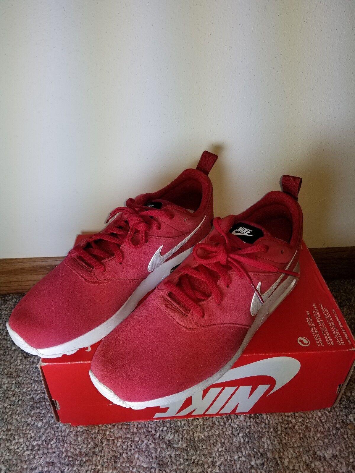 Nuevo Nike Air Max Tavas Rojo LTR Tamaño Hombre Zapatos Tamaño LTR Rojo Tavas d9a194