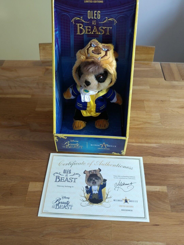 Autentisk Meerkat -leksak ny i lådan