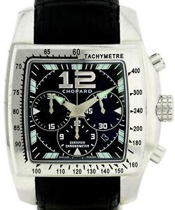 Chopard-Tycoon-two-o-TEN-XL-Automatic-cronografo-in-acciaio-inox-ref-8961-46-39mm
