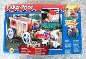 Fisher Price (72899): Royal Coach (Carrallo Batalla).   Interagit Magic Castle!