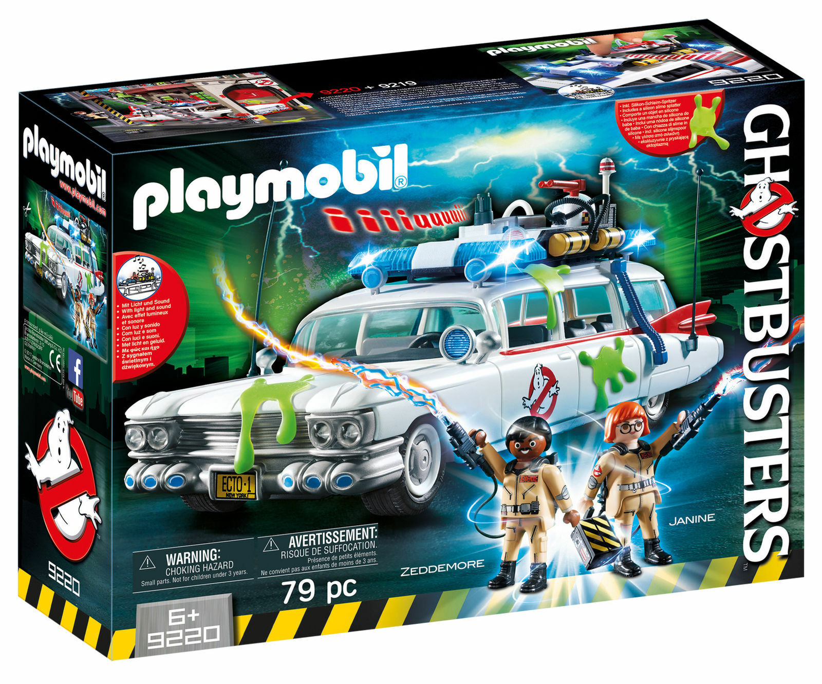 Playmobil Ghostbusters Ecto - 1 - 9220