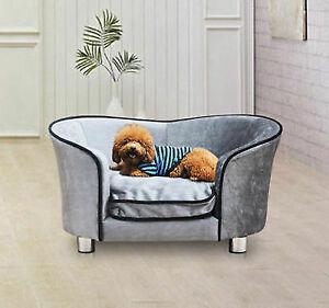 PawHut D04-016 Dog Cat Soft Cushion Chair Seat Lounger