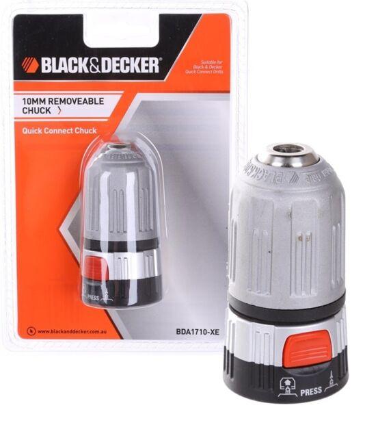 BLACK & DECKER 10mm Quick Connect Removable Clutch NEW BDA1710-XE