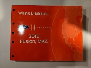 2015 ford fusion wiring diagram 2015 ford fusion lincoln mkz wiring diagrams ebay  2015 ford fusion lincoln mkz wiring