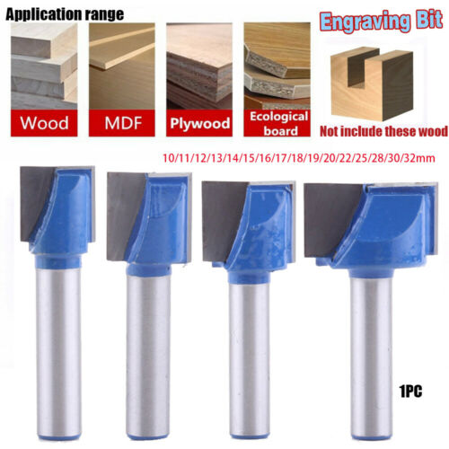 Endmill for wood Router bits Engraving Bit CNC milling cutter Woodworking Tools