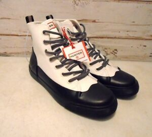 HUNTER-Brand-Waterpoof-Sole-Hi-Top-Shoes-Mens-Size-8-Womens-10-NWT-039-s