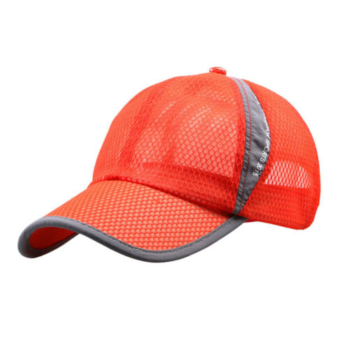 Men Women Sport Outdoor Holiday Sunshade Sun Hat Quick-dry Ventilation Baseball