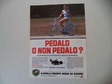 advertising Pubblicità 1985 GARELLI MOSQUITO