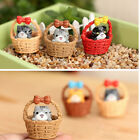 Miniature Figurine Resin Plant Pots Fairy Dollhouse Decor Garden Ornament CN